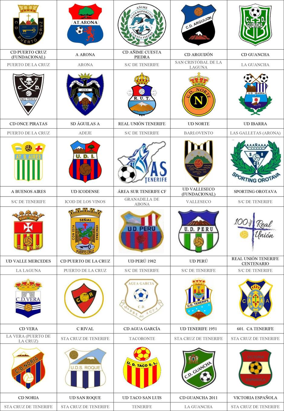 equipos futbol canarias tenerife