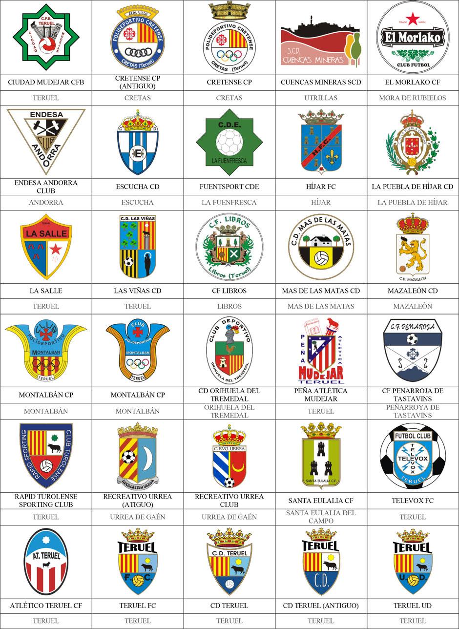 equipos futbol teruel