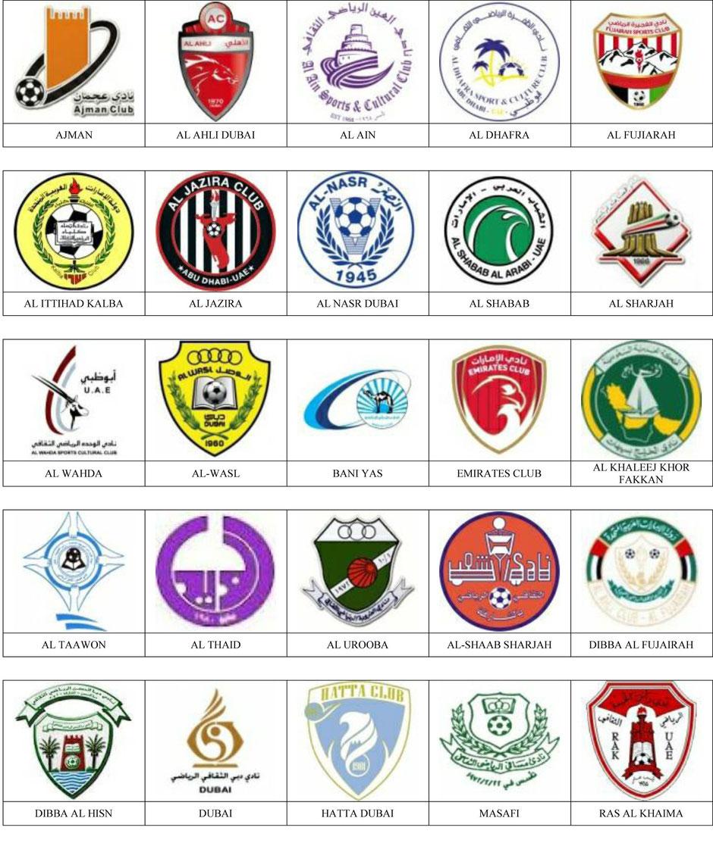equipos futbol emiratos arabes