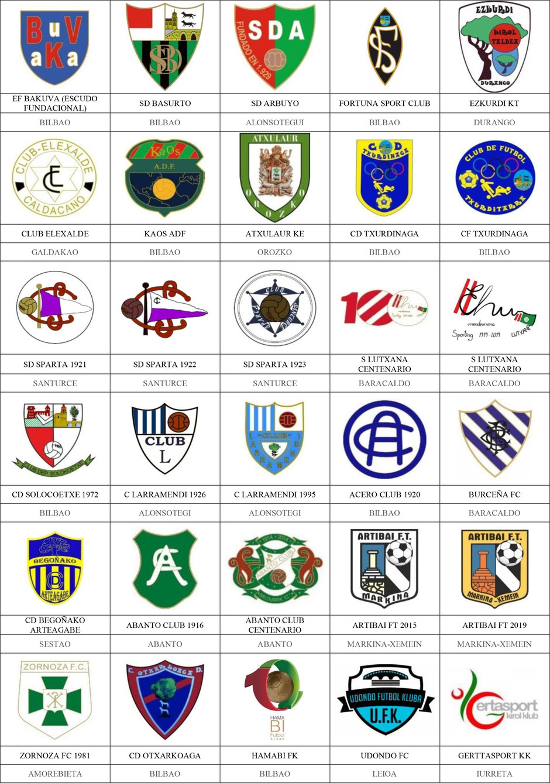 equipos futbol vizcaya bizkaia