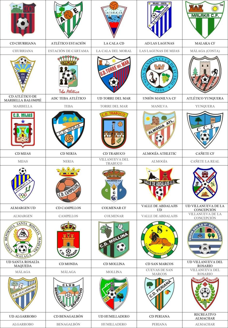 equipos futbol málaga
