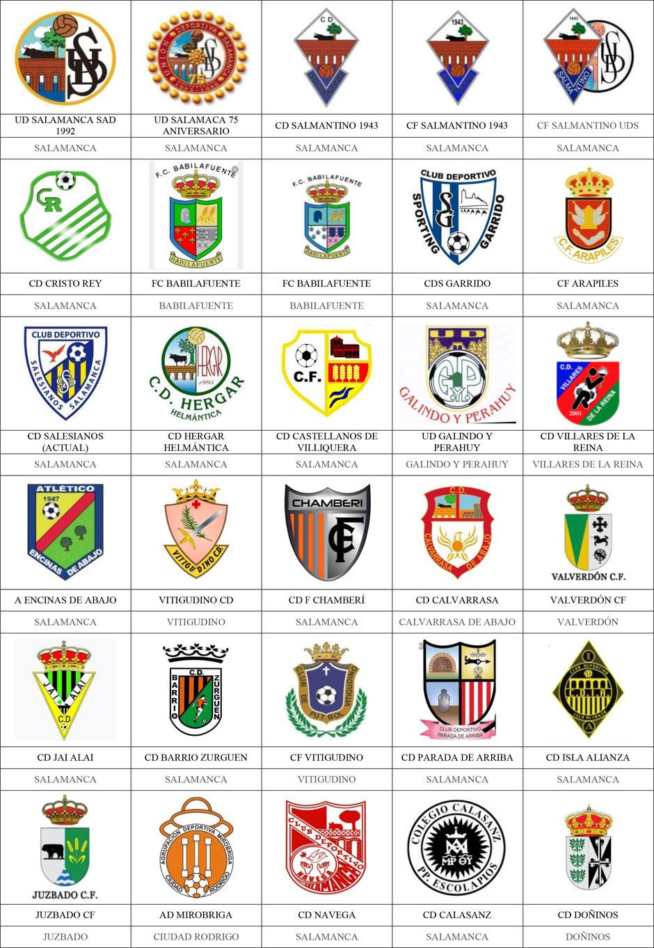 equipos futbol salamanca