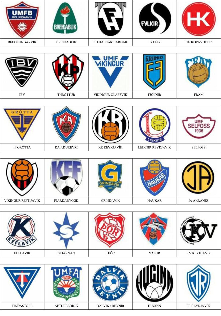 equipos futbol islandia