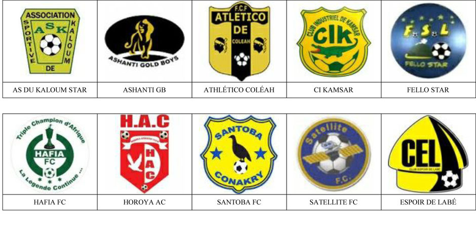 equipos futbol guinea