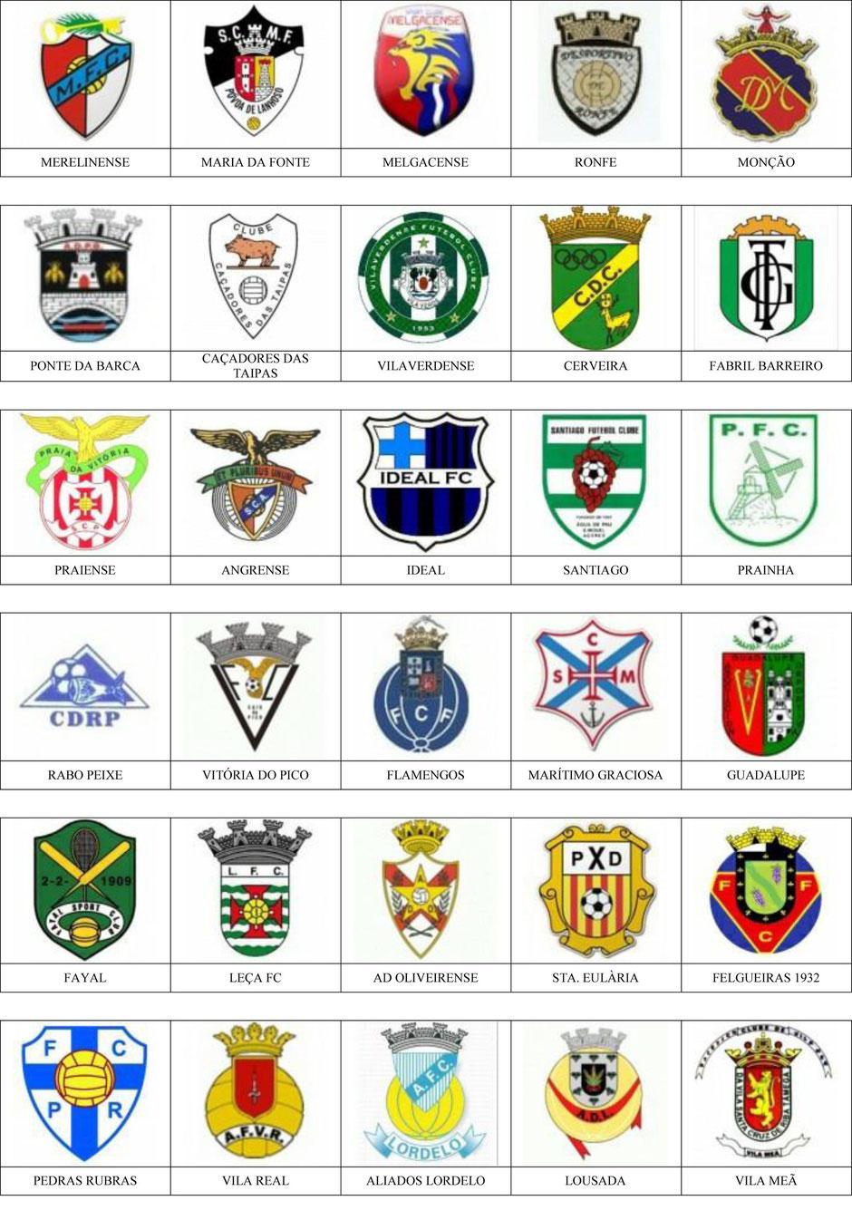 equipos futbol portugal
