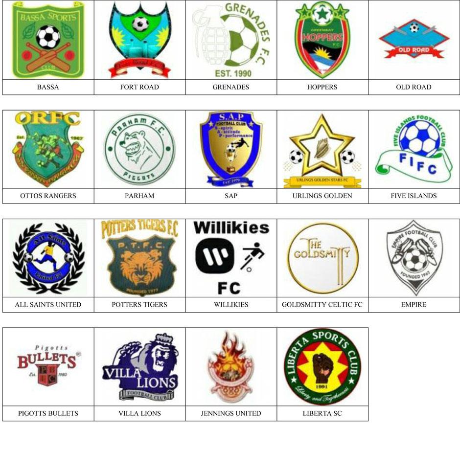 equipos futbol antigua y barbuda