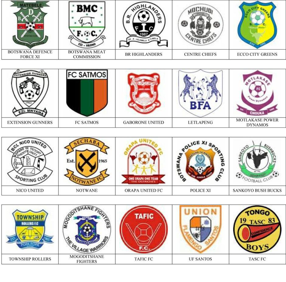 equipos futbol botswana