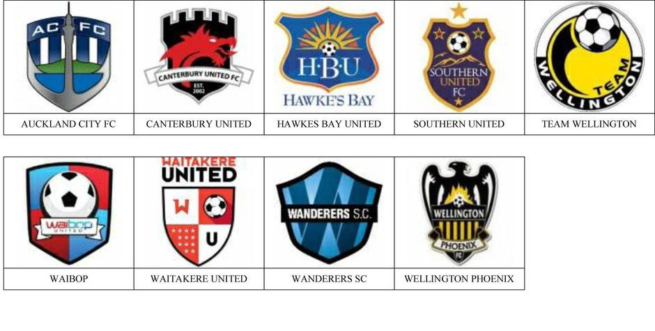 equipos futbol nueva zelanda