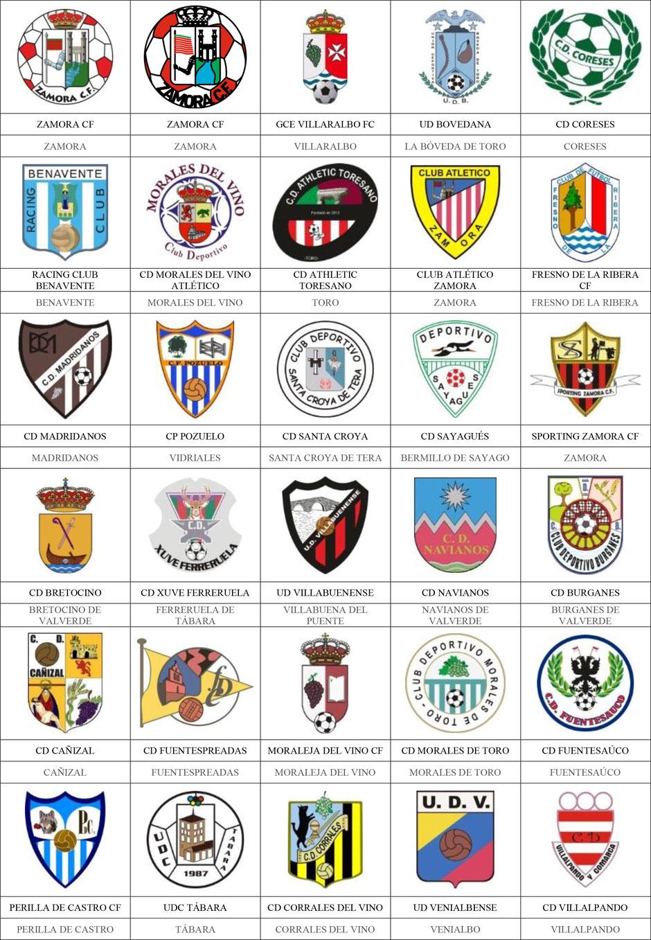 equipos futbol zamora