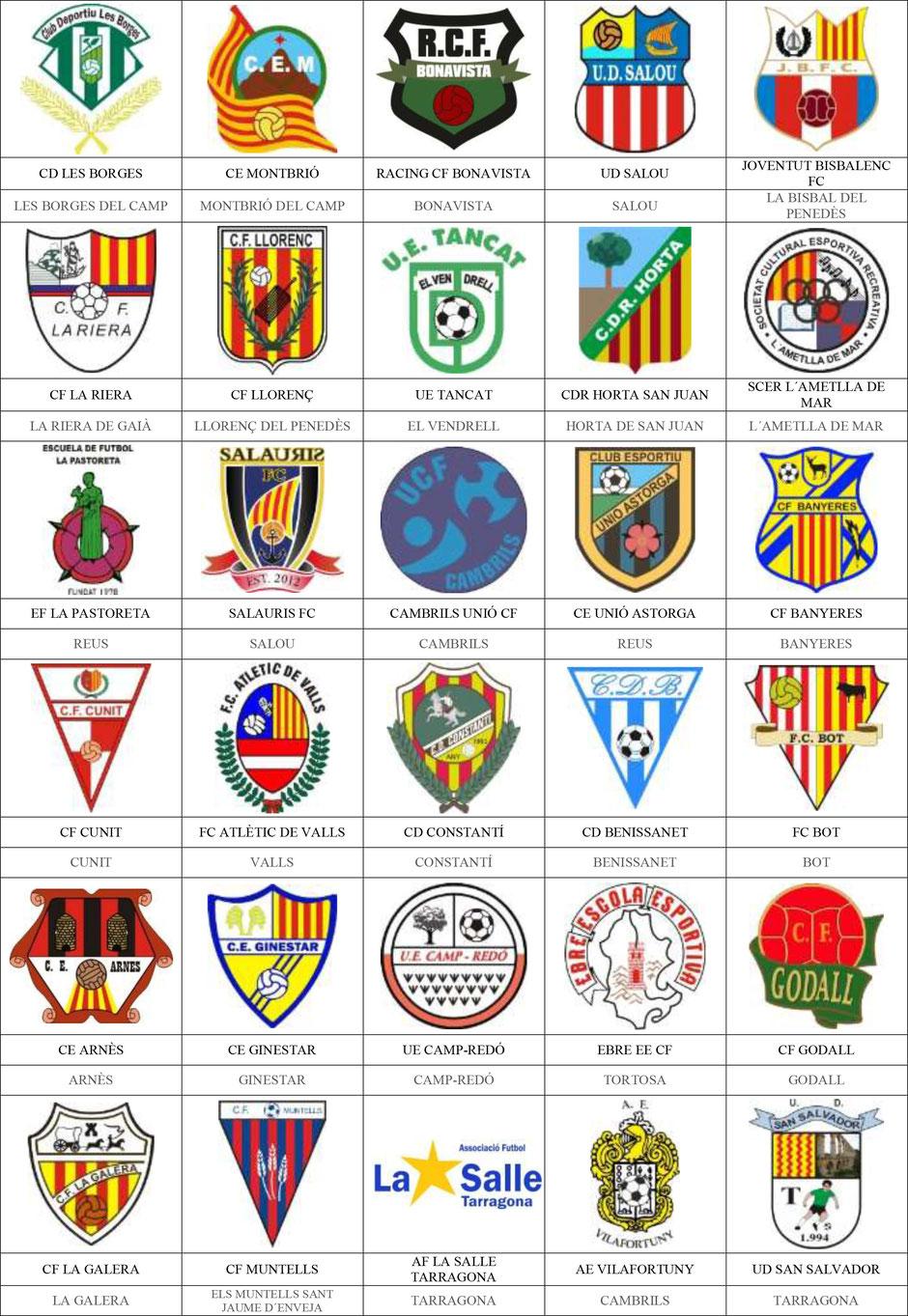 equipos futbol tarragona