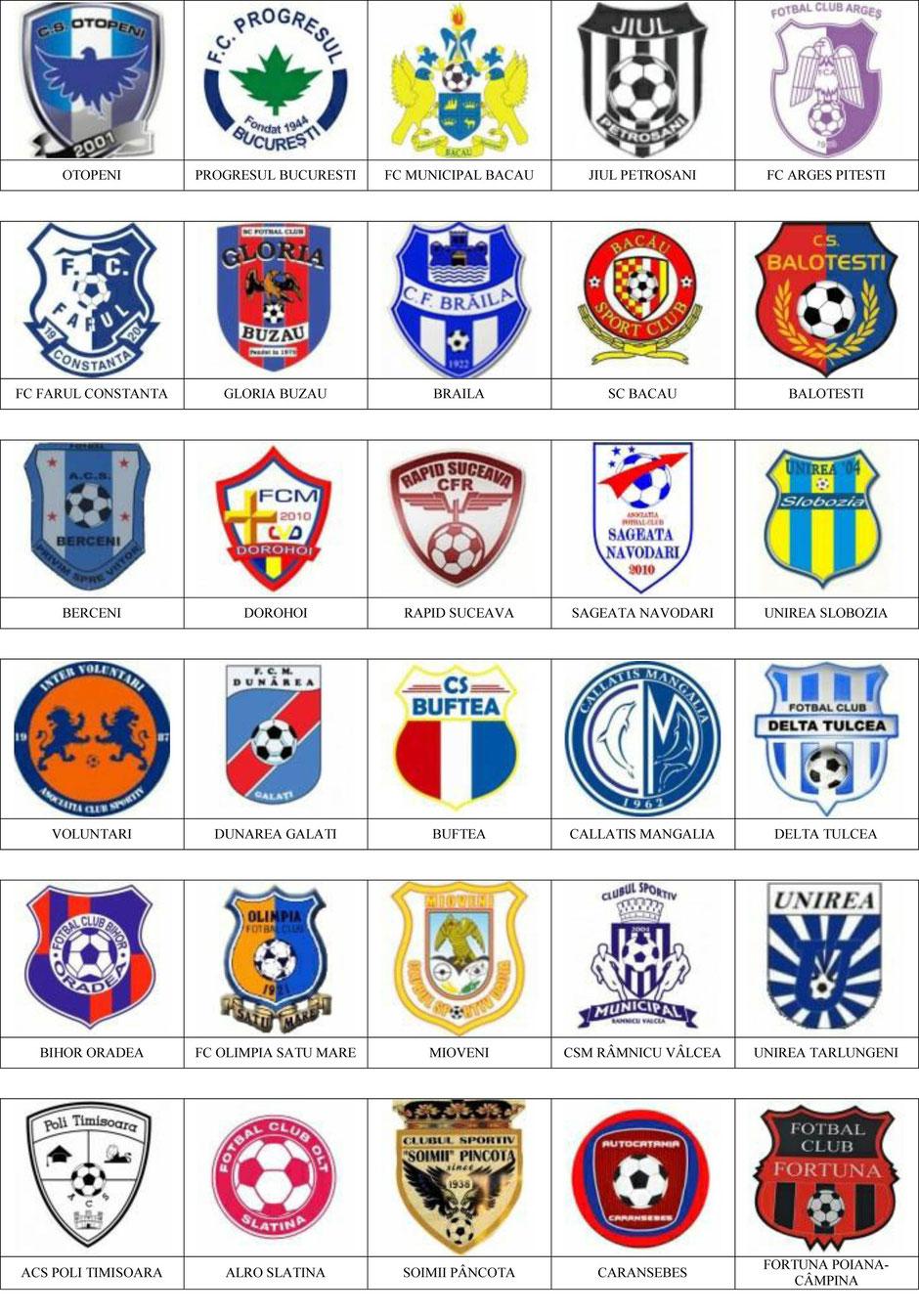 equipos futbol rumania