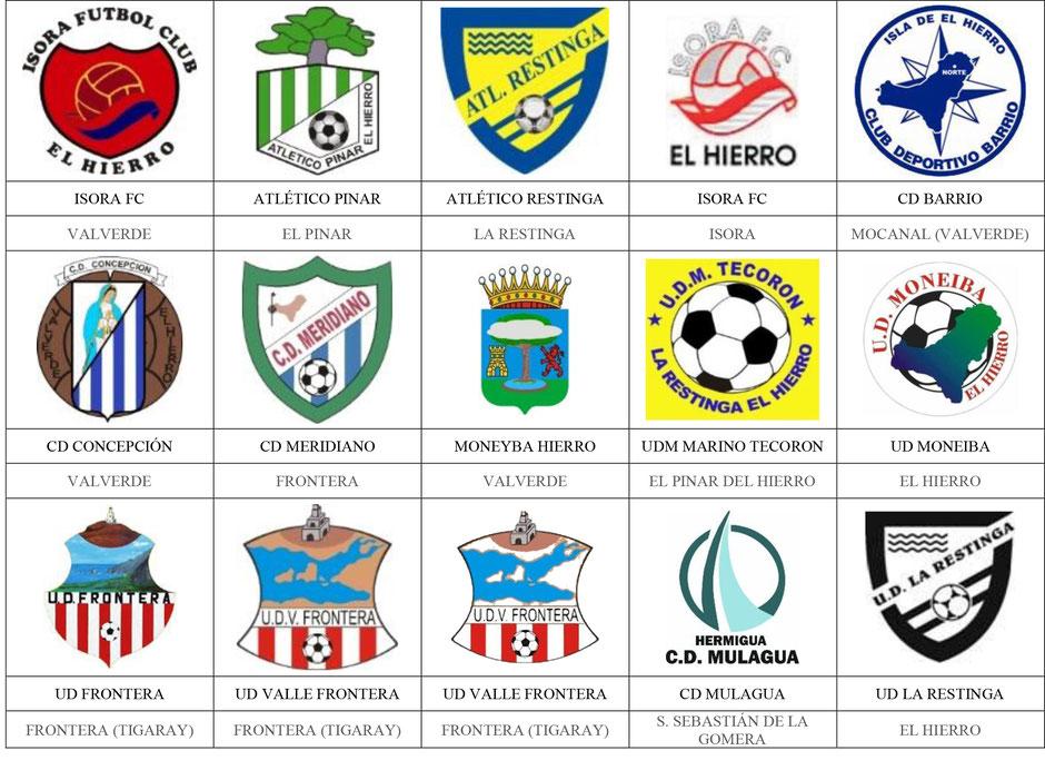 equipos futbol canarias hierro