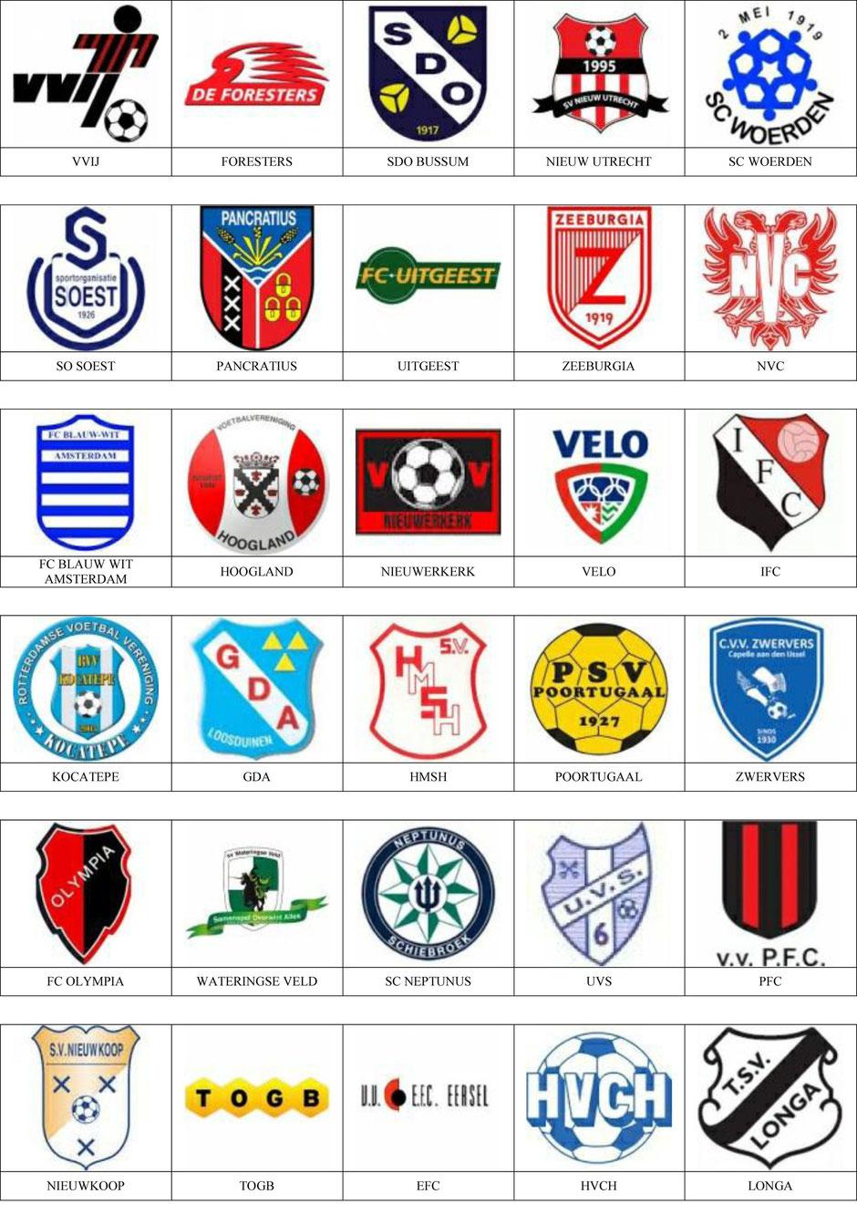 equipos futbol holanda