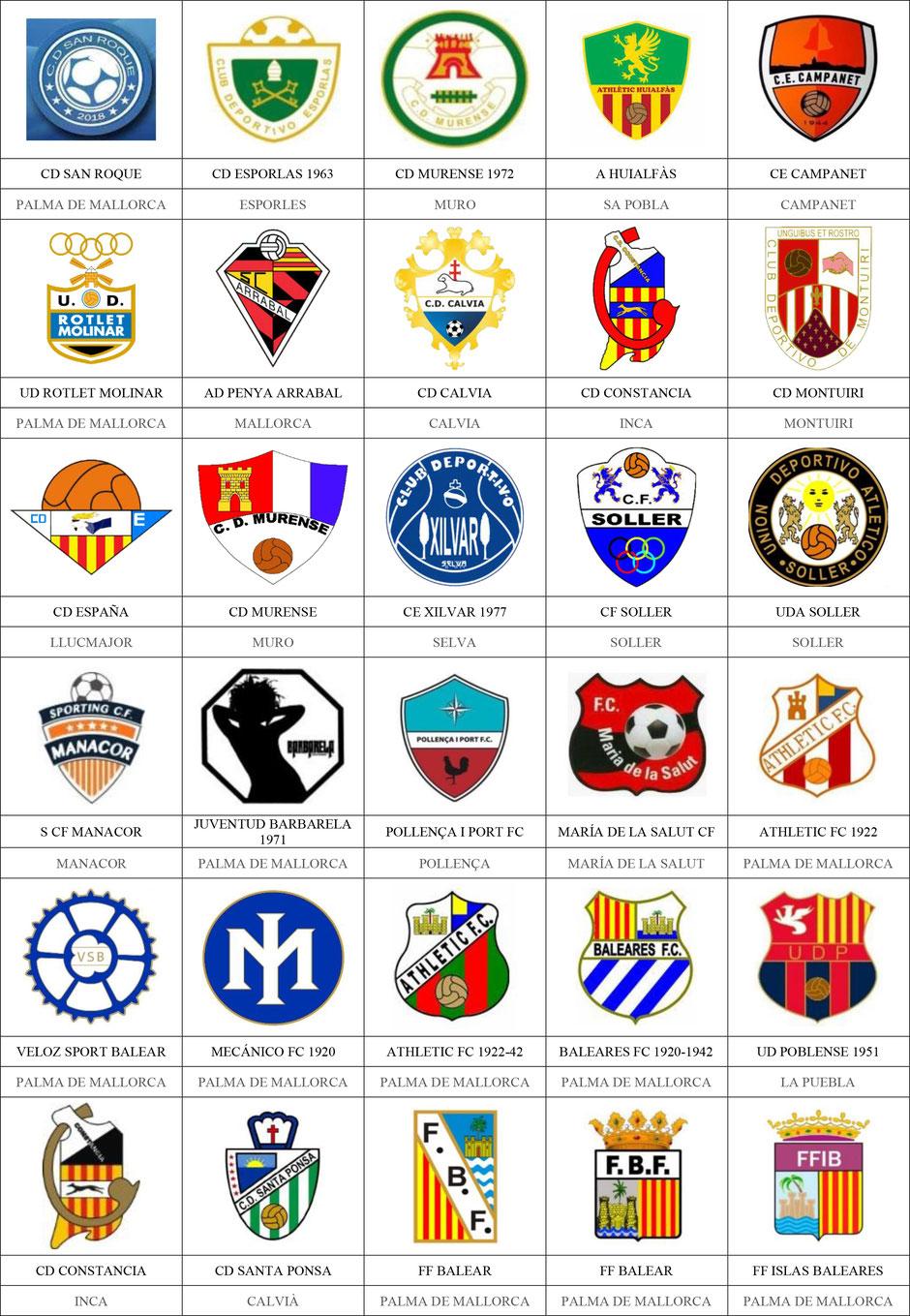 equipos futbol baleares mallorca