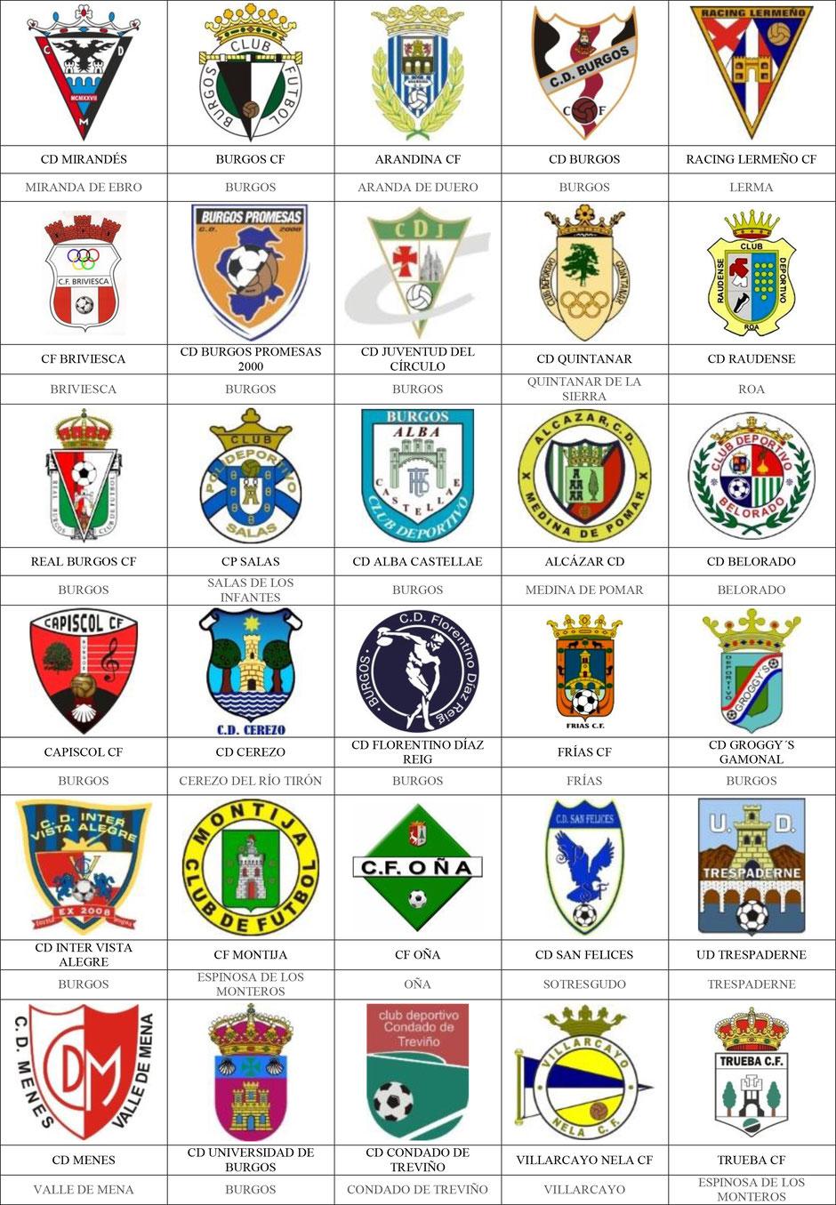 equipos futbol burgos