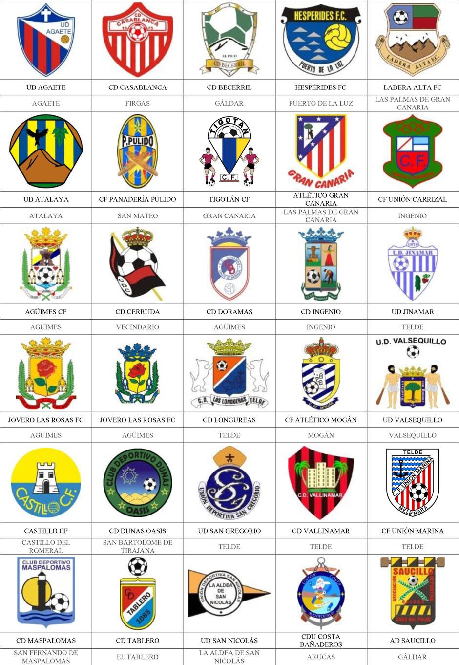 equipos futbol canarias gran canaria
