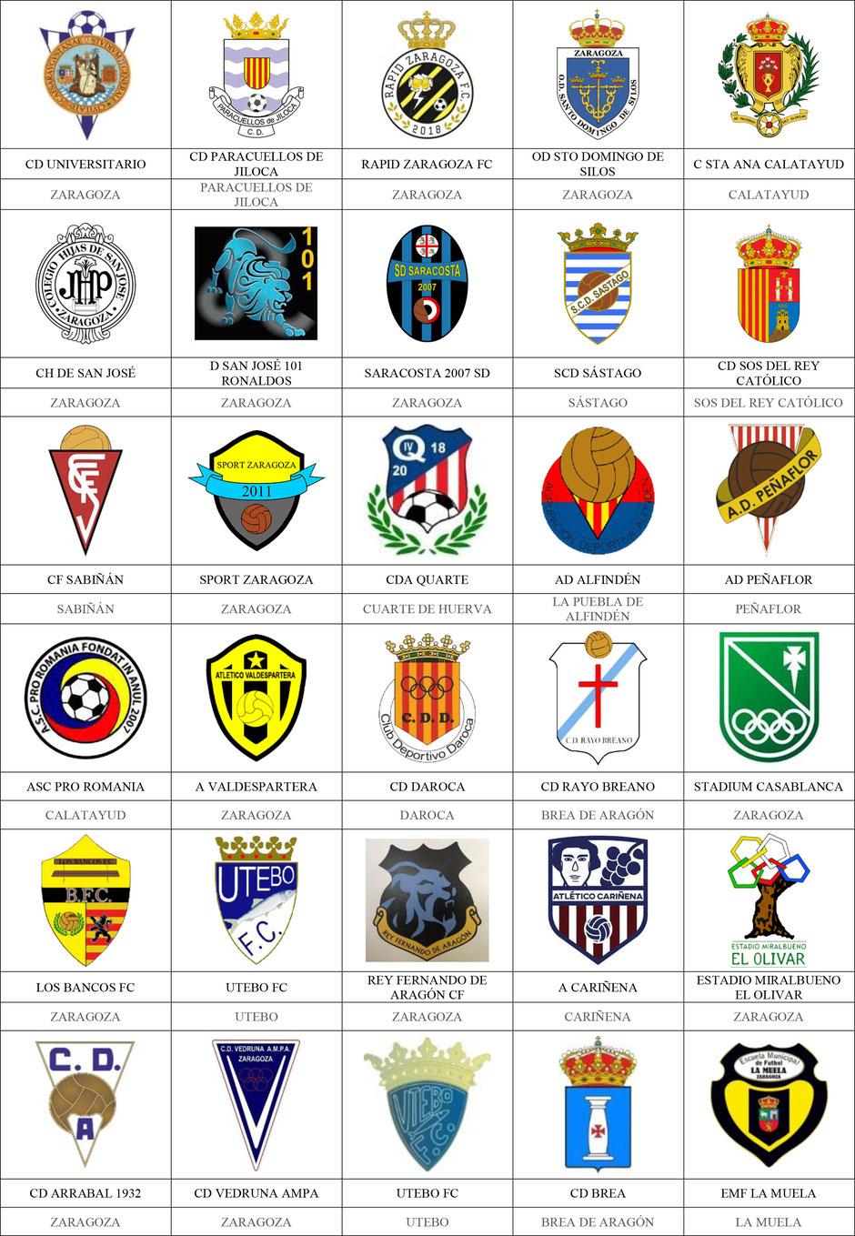 equipos futbol zaragoza