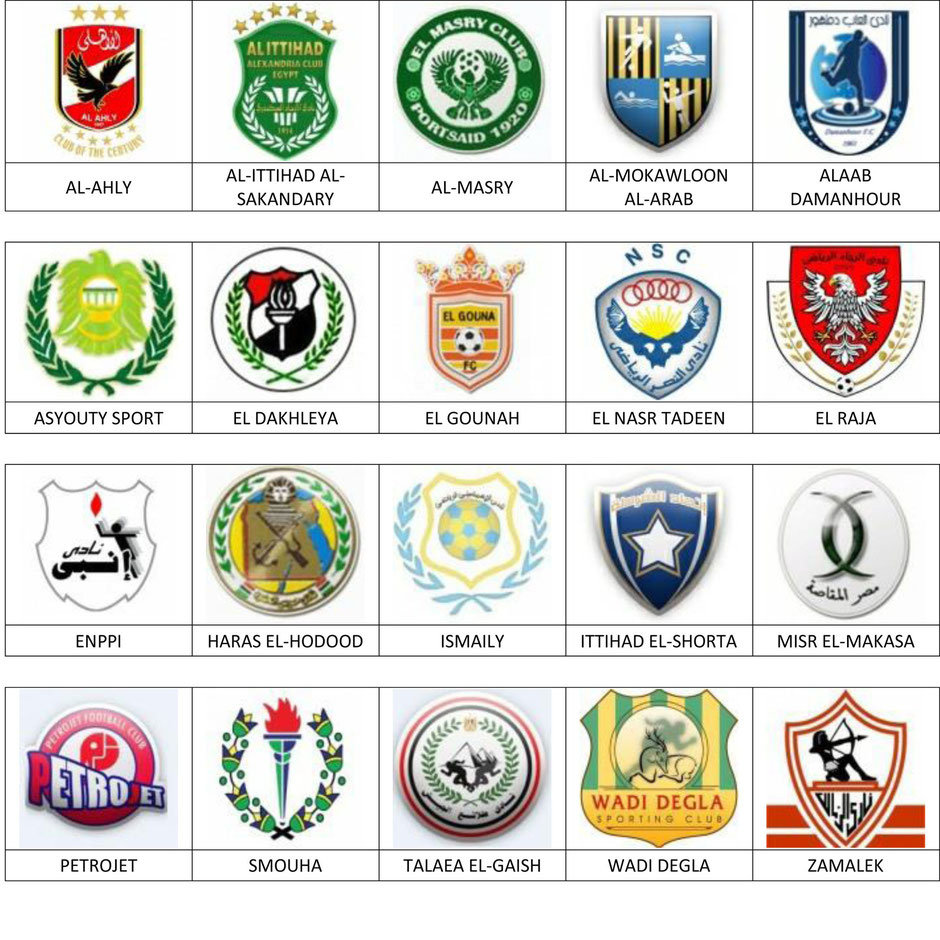 equipos futbol egipto