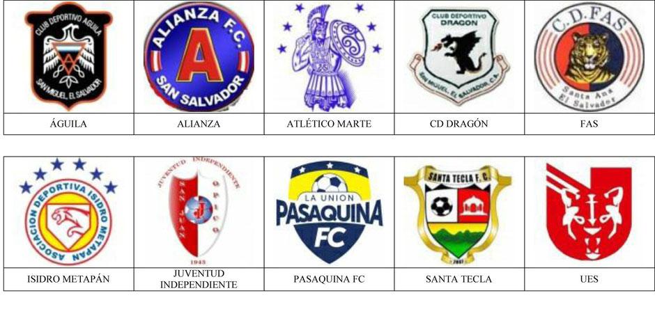 equipos futbol el salvador