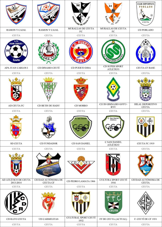 equipos futbol ceuta
