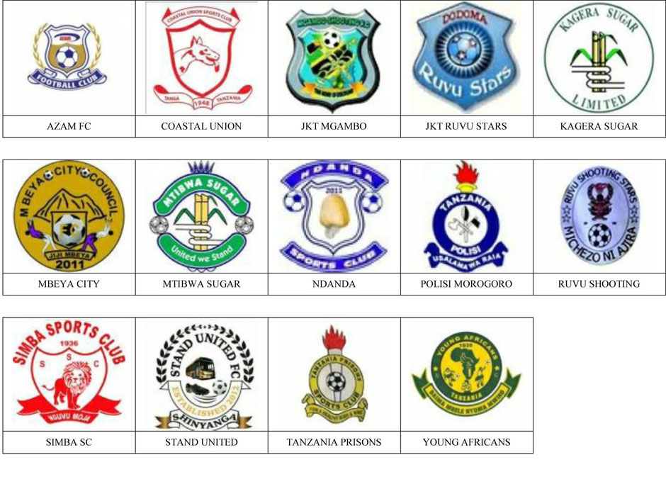 equipos futbol tanzania