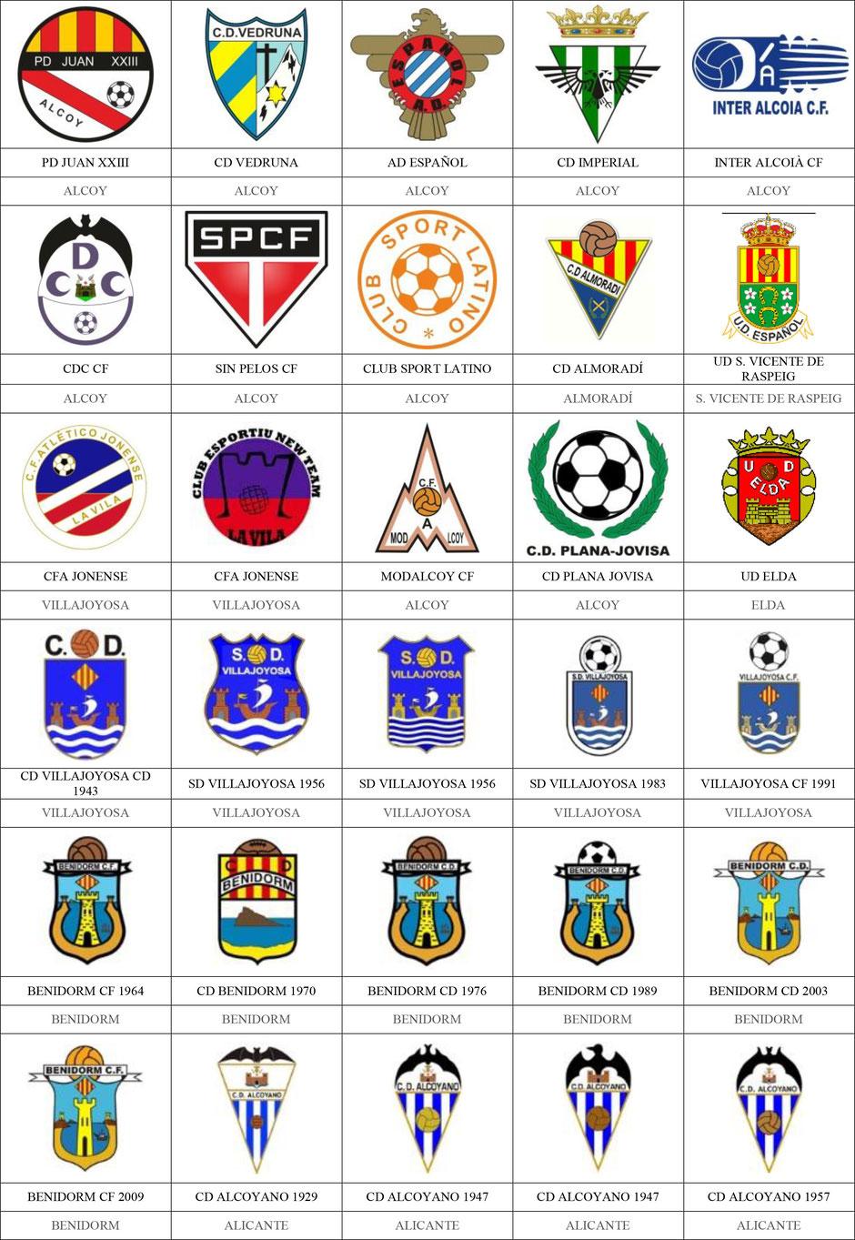 equipos futbol alicante