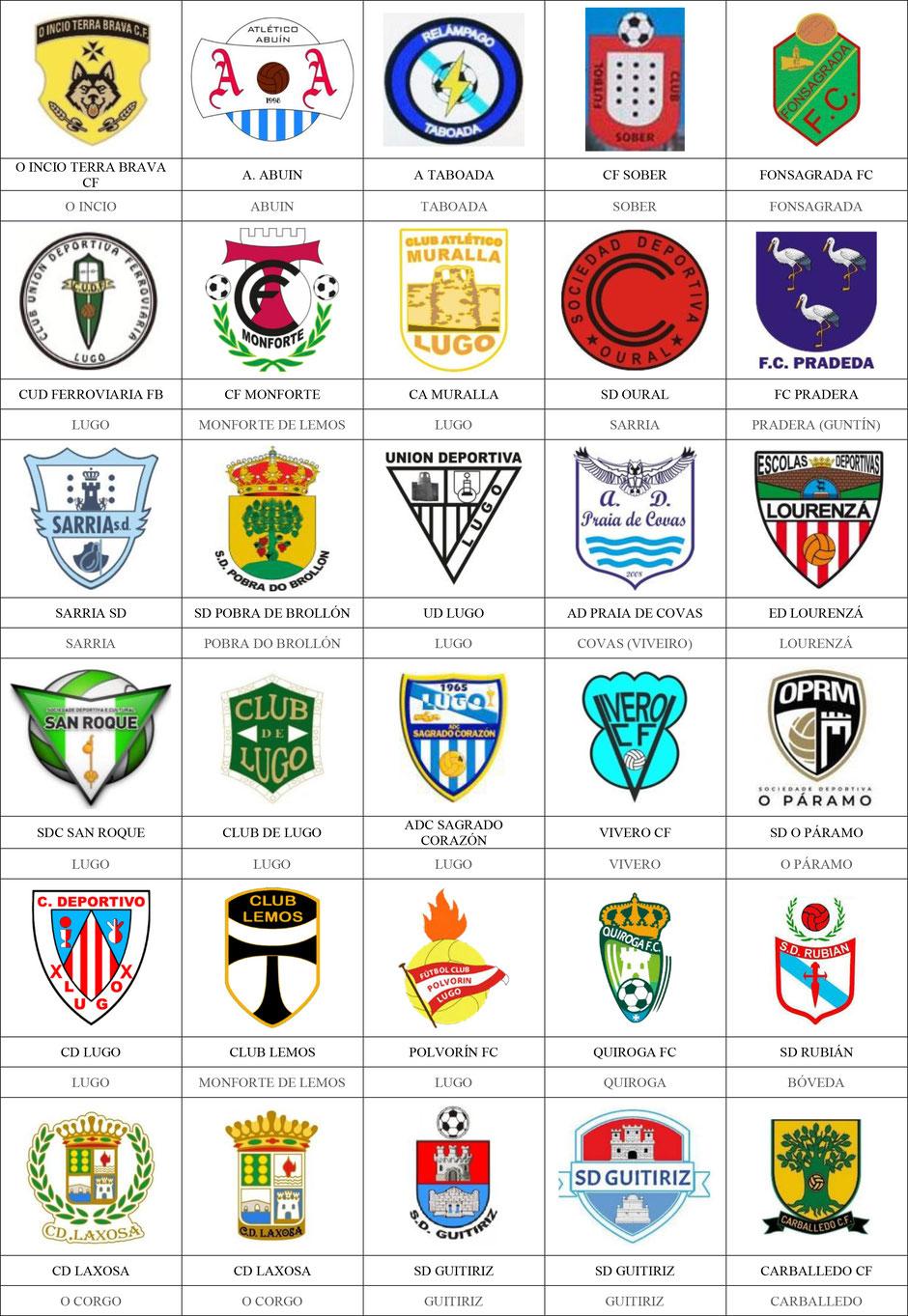 equipos futbol lugo