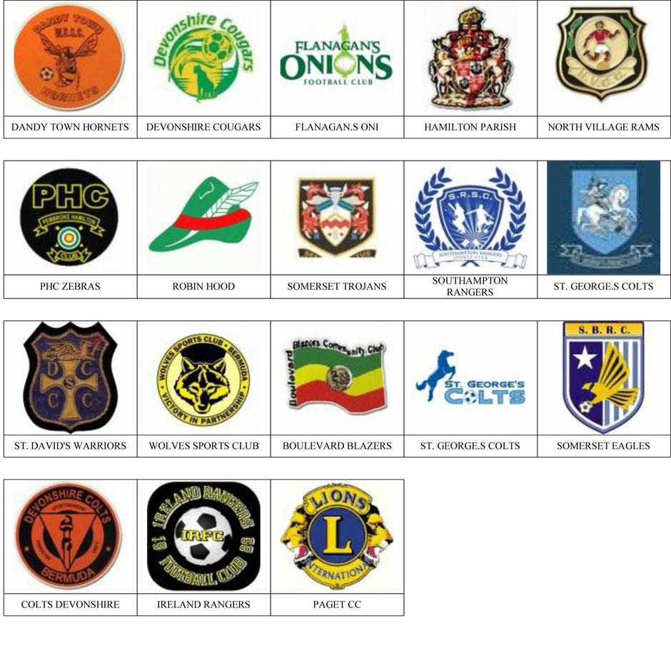 equipos futbol bermudas
