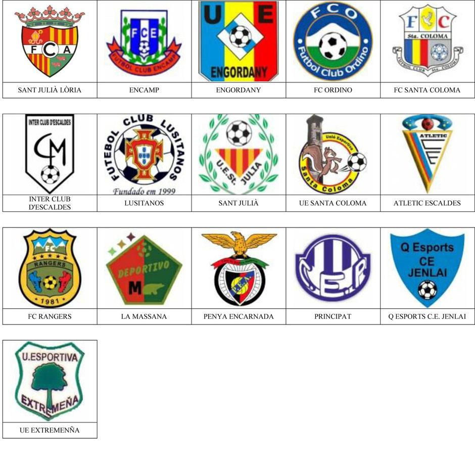 equipos futbol andorra