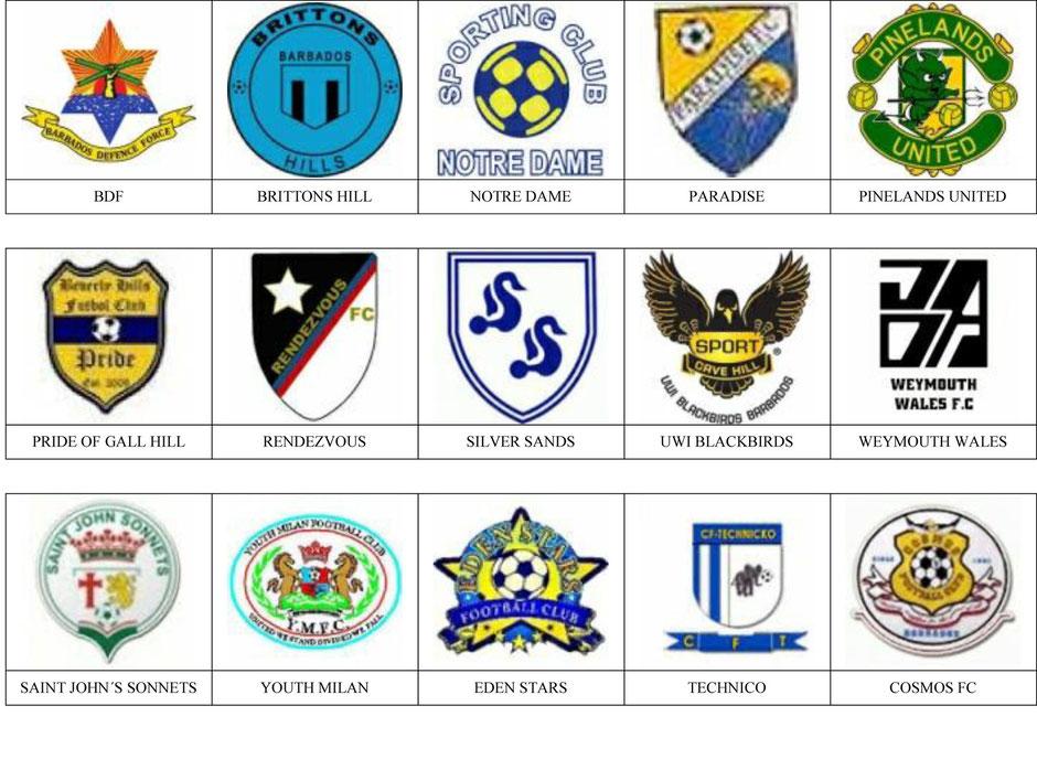 equipos futbol barbados