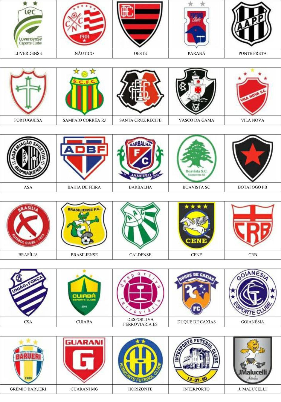 equipos futbol brasil