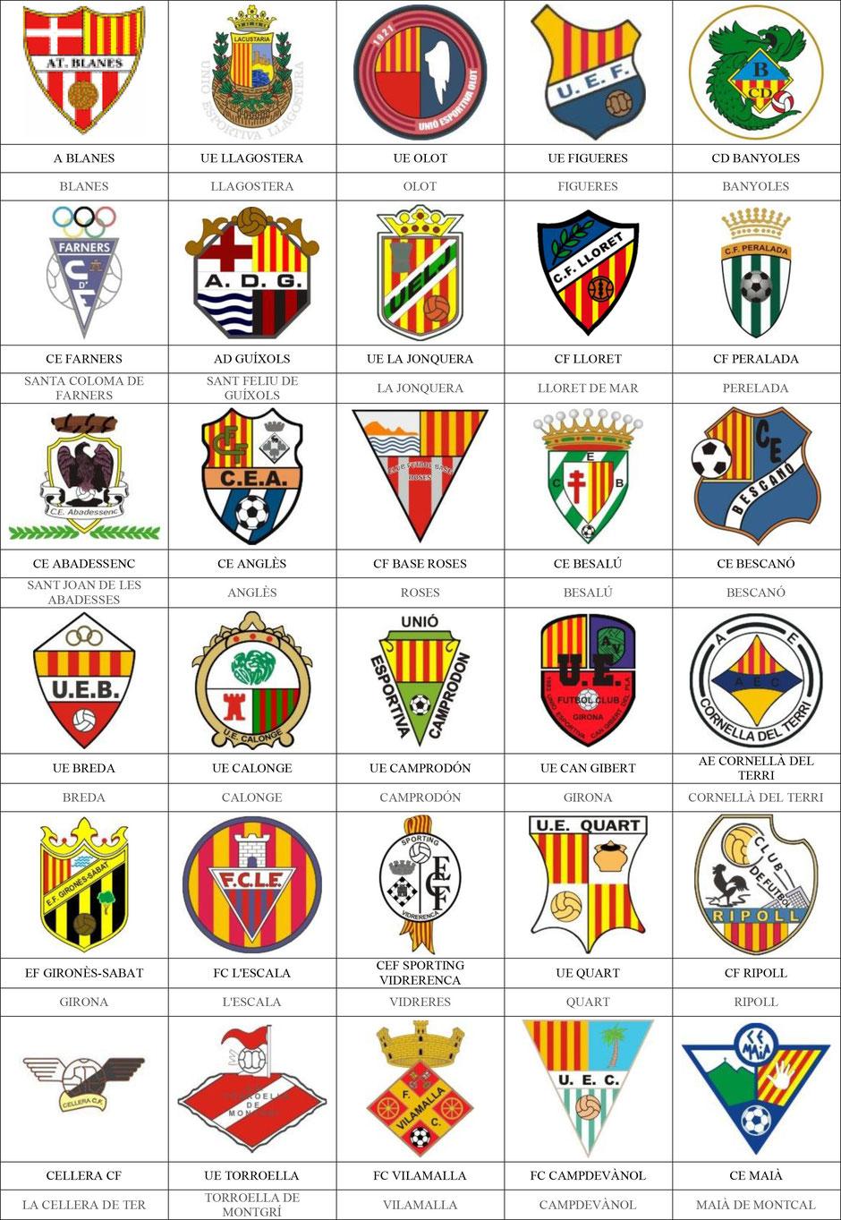 equipos futbol gerona girona