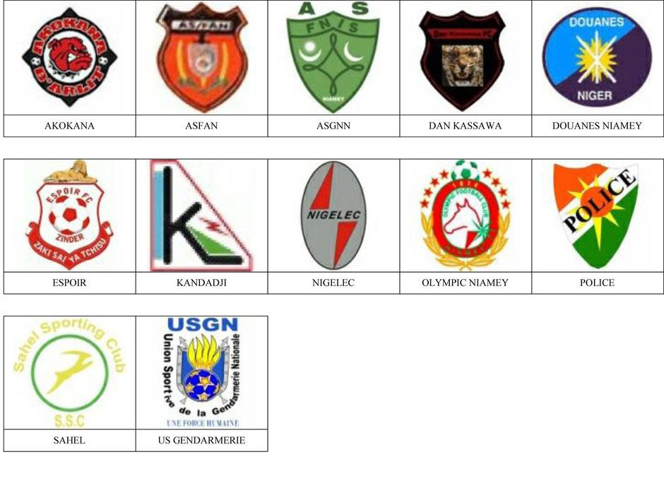 equipos futbol niger