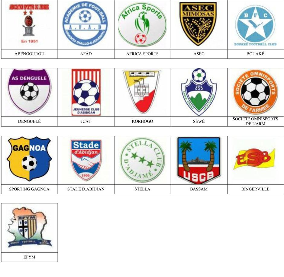 equipos futbol costa de marfil