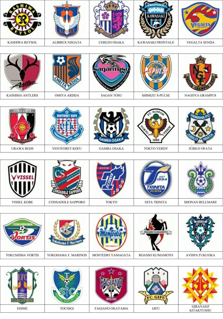 equipos futbol japon