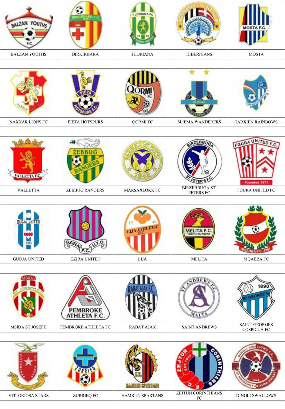 equipos futbol malta