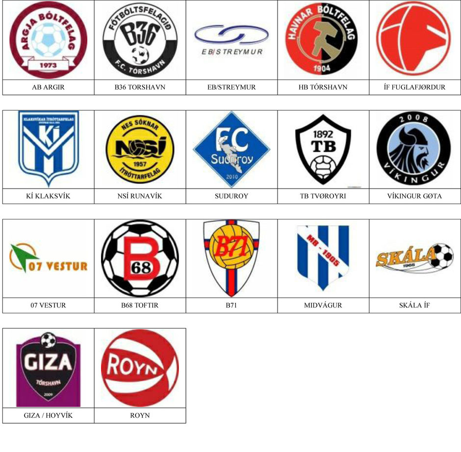 equipos futbol islas feroe