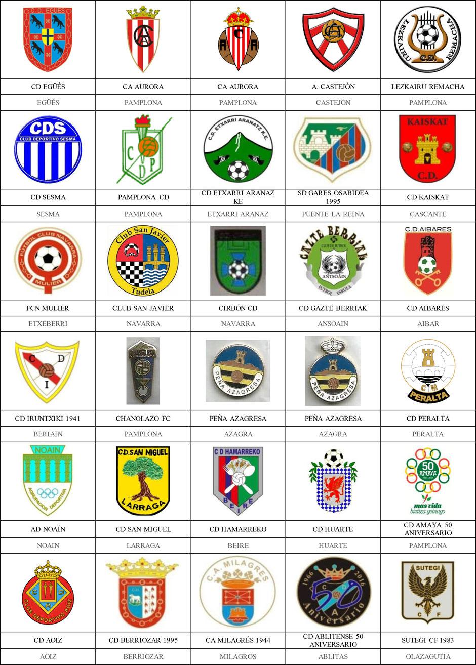 equipos futbol navarra