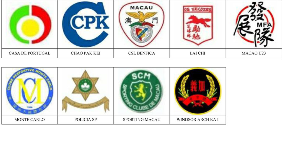 equipos futbol macao