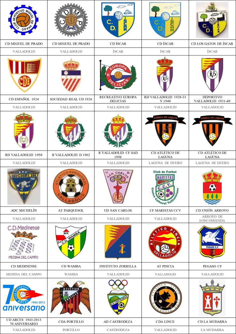 equipos futbol valladolid