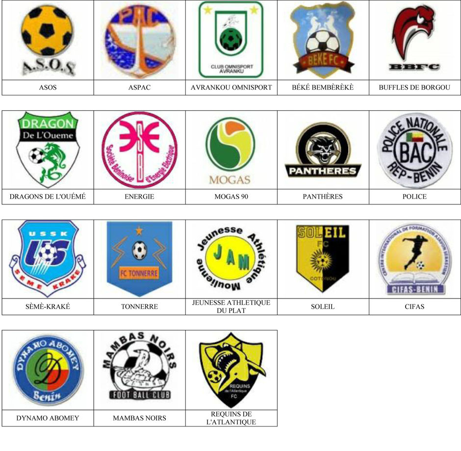 equipos futbol benin