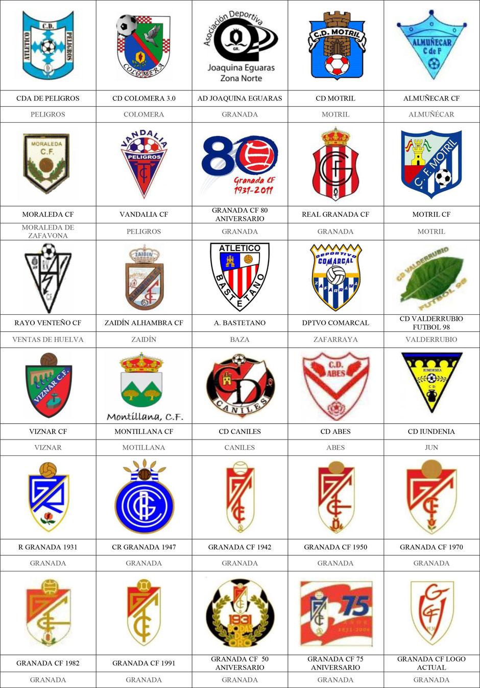 equipos futbol granada