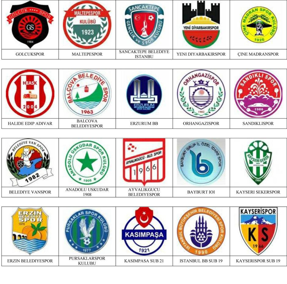 equipos futbol turquia