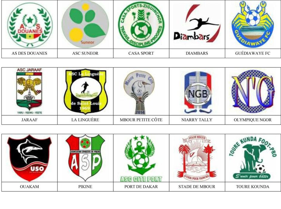equipos futbol senegal