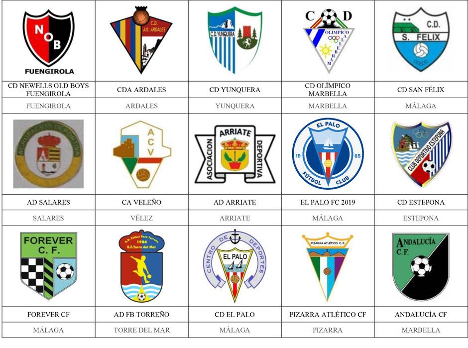 equipos futbol málaga malaga