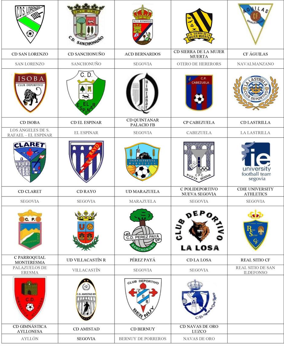 equipos futbol segovia