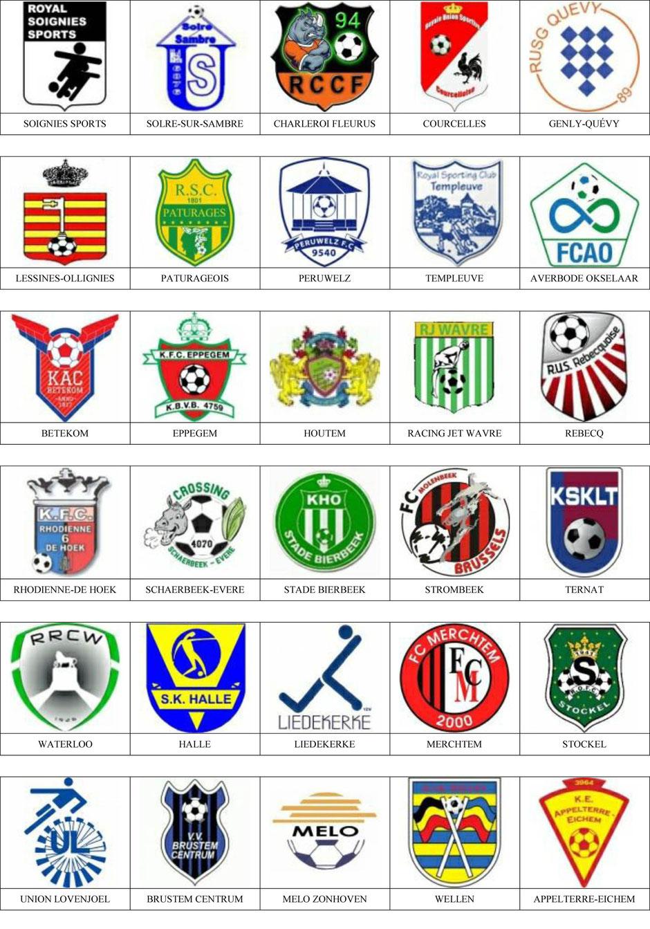 equipos futbol belgica