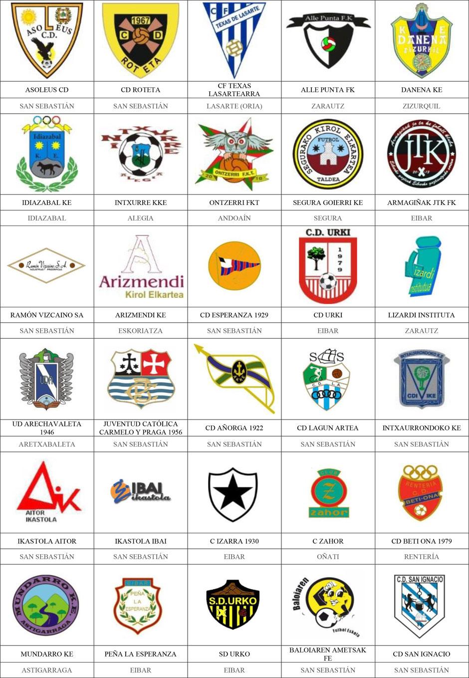 equipos futbol guipúzcoa guipuzkoa