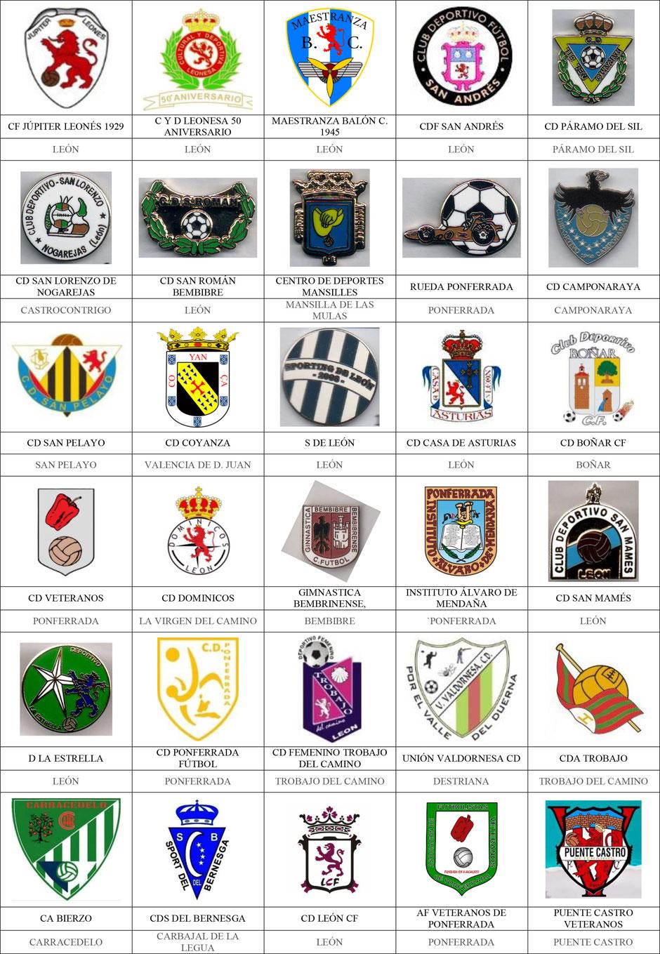 equipos futbol leon