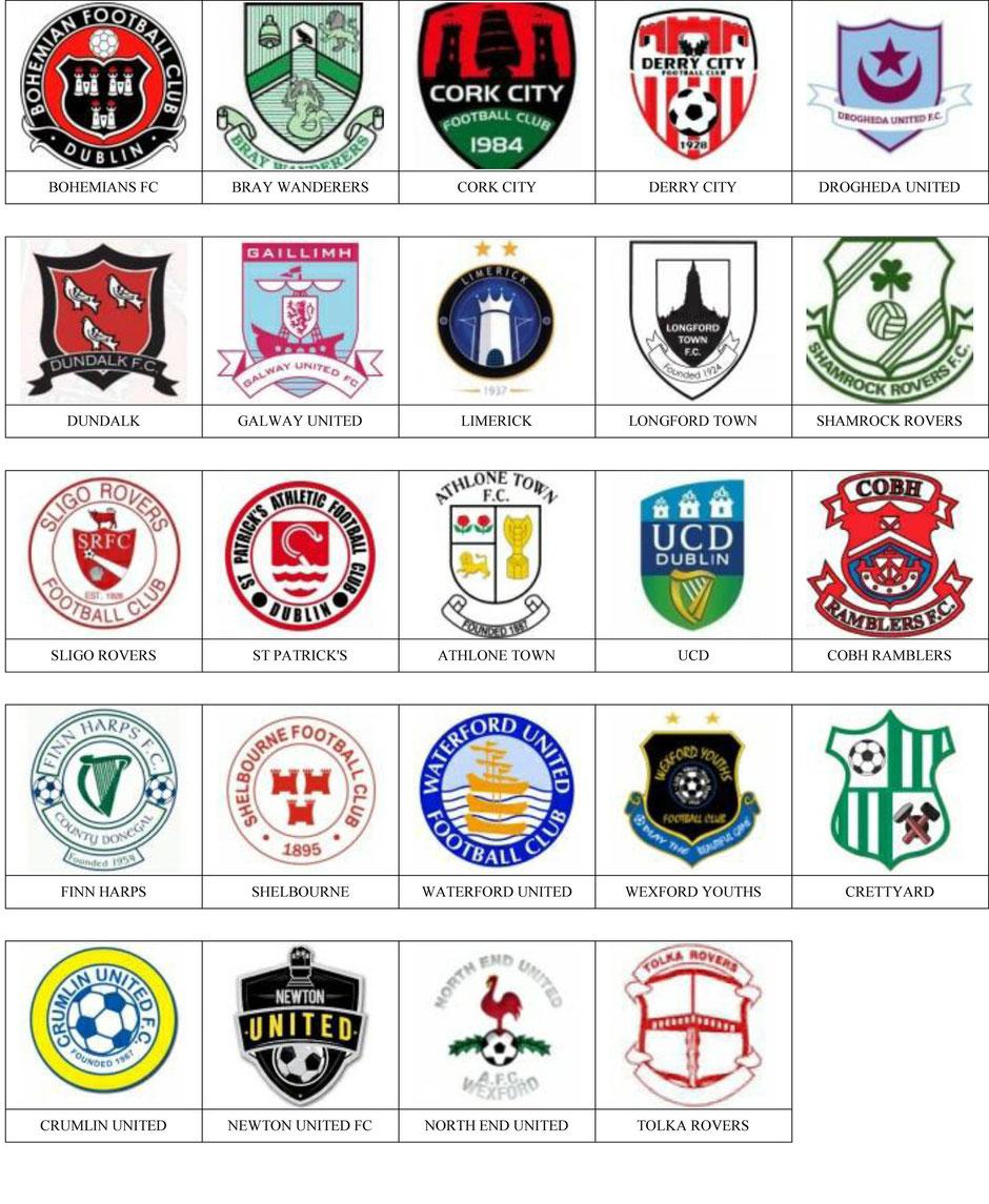 equipos futbol irlanda